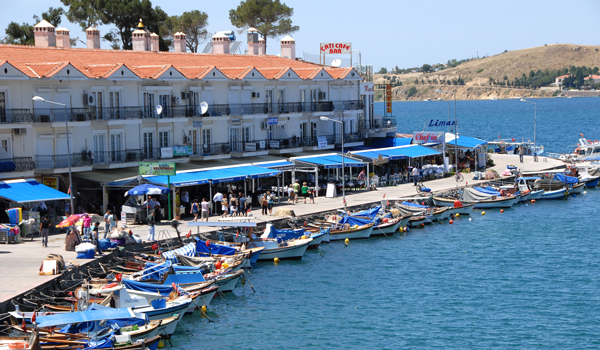 Foça harbour