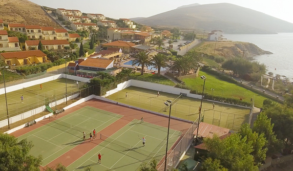 Tennis in Lemnos