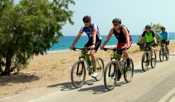 Mountain biking in Rhodes