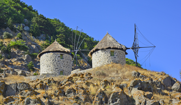 Kontias village windmills