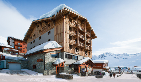 Chalet Hotel Aiguille Percee